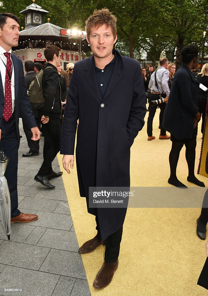 Count Nikolai von Bismarck attends the World Premiere of 'Absolutely Fabulous: The Movie' at Odeon Leicester Square on June 29, 2016 in London, England.