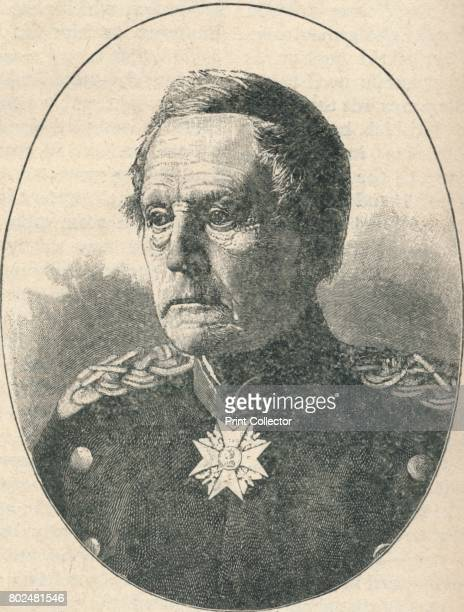 Count Von Moltke' 1902 Helmuth von Moltke German Field Marshal and chief of staff of the Prussian Army for thirty years From Battles of the...