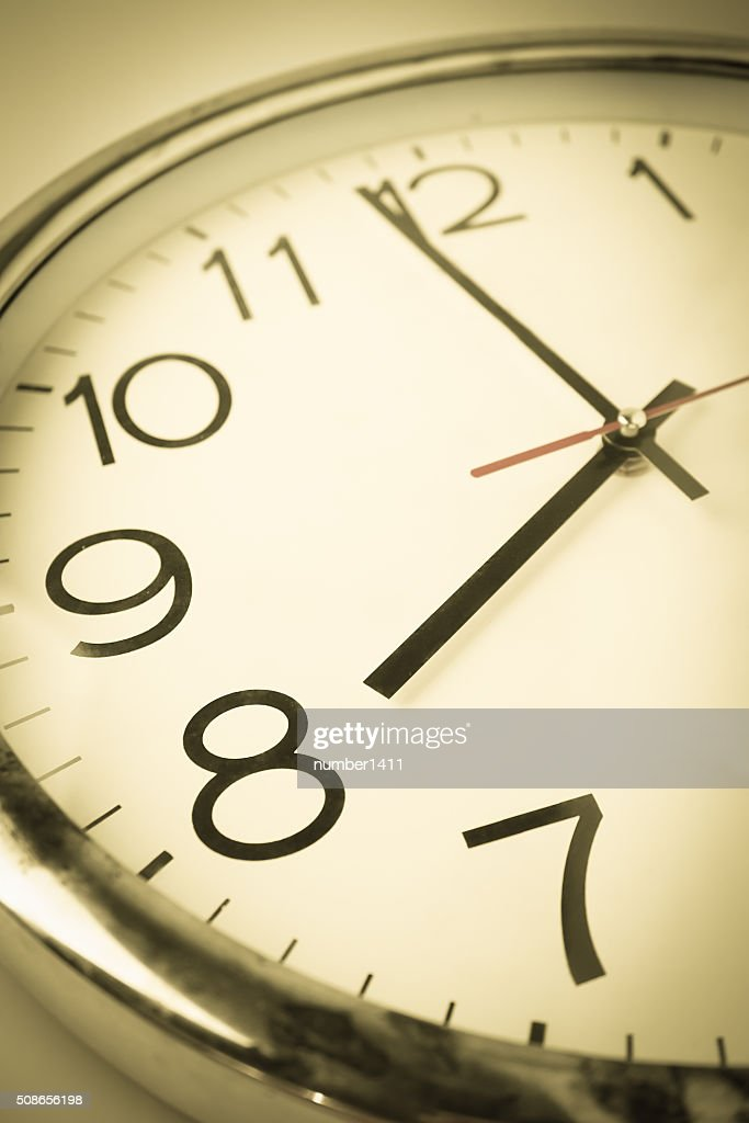 countdown clock to new day : Stock Photo