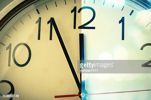 countdown to new day : Stock Photo