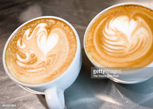 Counter Culture Coffee Training Center in Adams Morgan hosts 'Thursday throwdowns' a new weekly tradition among the barista community in town in...