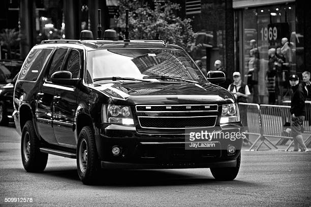 Counter Terrorism Security Vehicles during United Nations Assembly events, NYC
