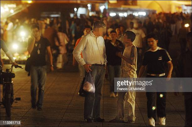 CounterInquiry On Prostitution Marrakech The New Queen Of Vice In Marrakech Morocco In May 2007 On Jemaa elFna square a western tourist talks to a...