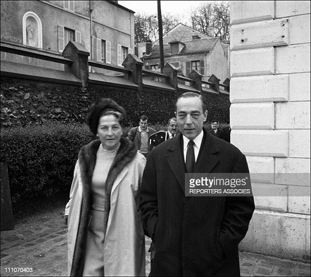 Countess and Count of Paris at the Olympia in Paris France on December 05 1965