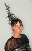 Countess Debonaire Von Bismarck attends the private view of Isabella Blow Fashion Galore Party at Somerset House on November 19 2013 in London England