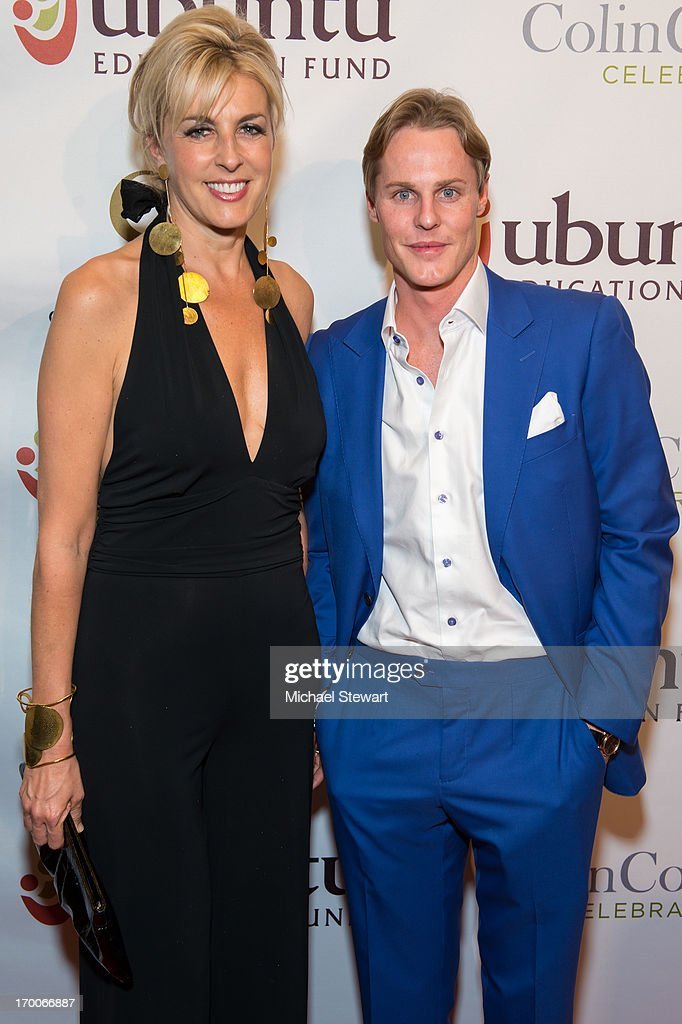 Countess Elisabeth de Kergorlay (L) and artist/philanthropist Conor McCreedy attend Annual Ubuntu Education Fund NY Gala at Gotham Hall on June 6, 2013 in New York City.