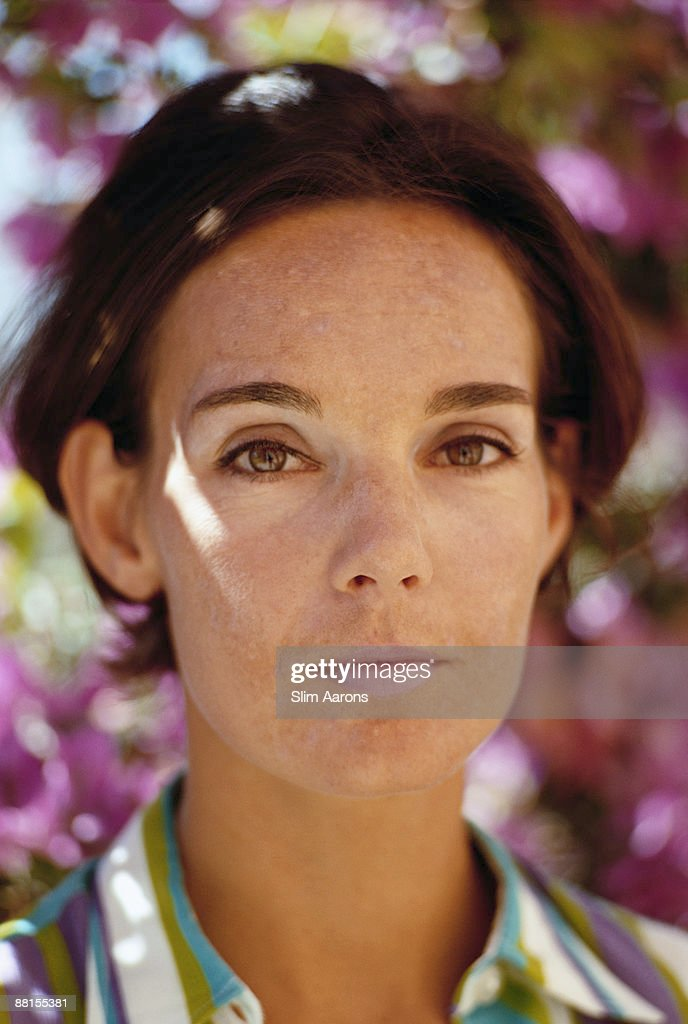 Countess Fabrizia Citterio wife of Prince Alessandro Borghese at Porto Ercole August 1967