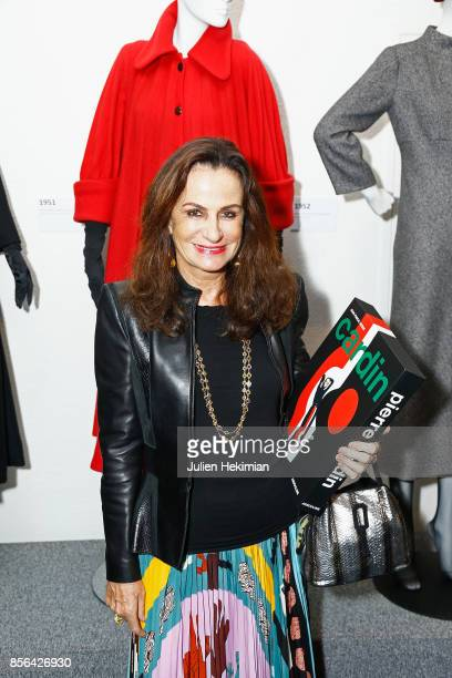 Countess Georgina Brandolini D'Adda attends the 'Pierre Cardin' By JeanPascal Hesse Book Signing At Pierre Cardin Museum as part of the Paris Fashion...