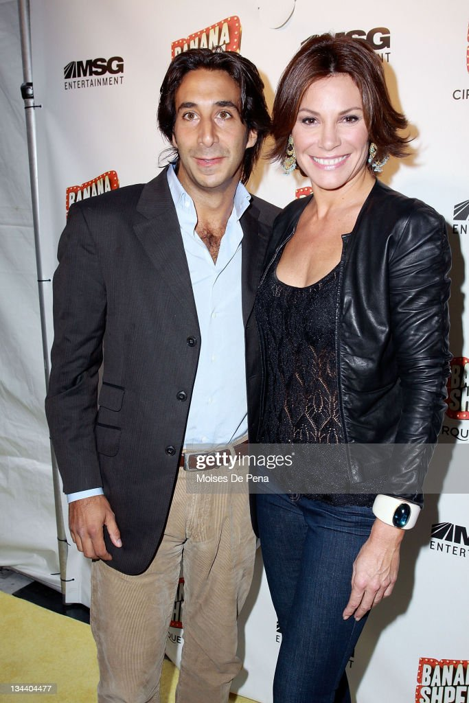 Countess Luann de Lesseps and Jacques Azoulay attend the opening night of Cirque du Soleil's 'Banana Shpeel' at the Beacon Theatre on May 19, 2010 in New York City.