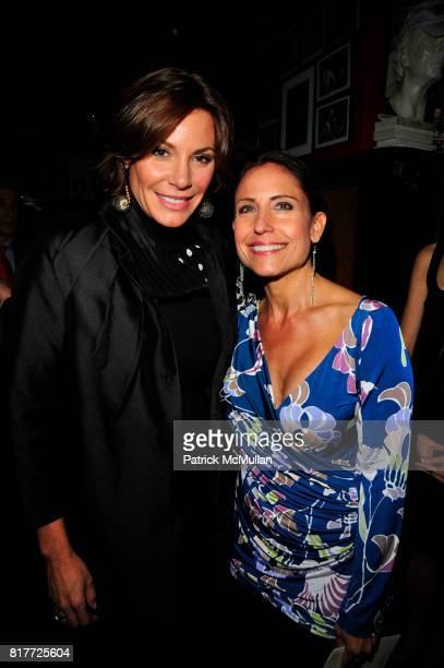 Countess LuAnn de Lesseps and Maria Pope Kessel attend THE DEEDS OF MY FATHERS by Paul David Pope New York book launch at Elaine's on October 6th...