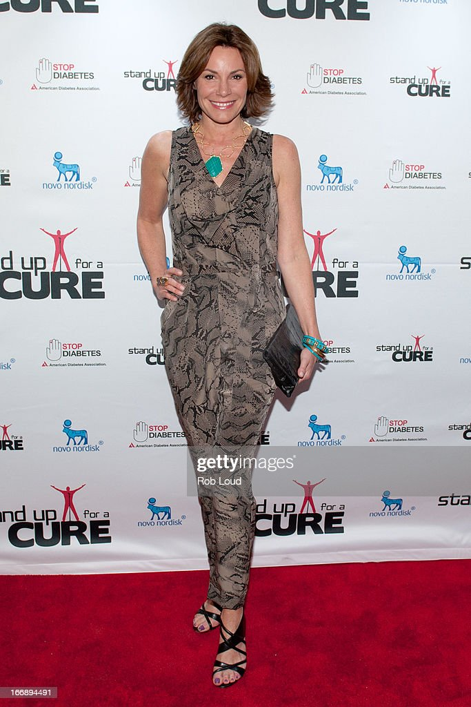 Countess LuAnn De Lesseps arrives at Stand Up For a Cure at Madison Square Garden on April 17, 2013 in New York City.