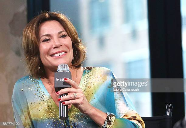 Countess Luann de Lesseps attends AOL Build Speaker Series at AOL Studios In New York on May 19 2016 in New York City