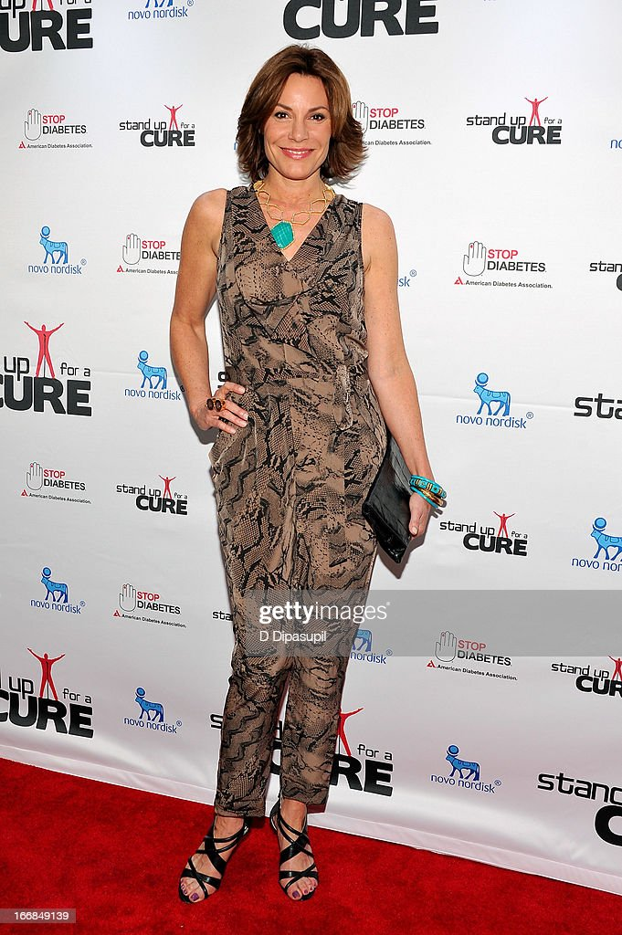 Countess LuAnn De Lesseps attends Stand Up For A Cure 2013 at Madison Square Garden on April 17, 2013 in New York City.