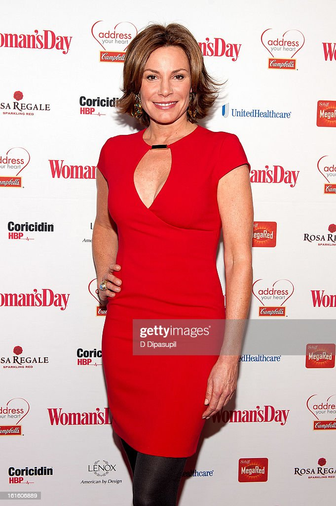Countess LuAnn De Lesseps attends the 10th Annual Red Dress Awards at Jazz at Lincoln Center on February 12, 2013 in New York City.