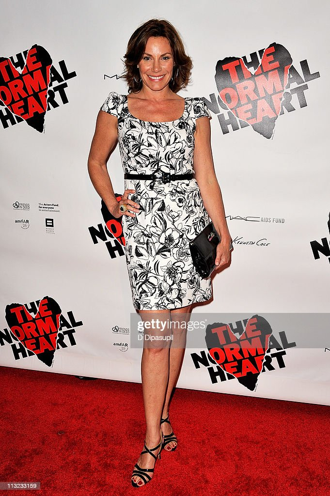 Countess LuAnn de Lesseps attends the Broadway opening night of 'The Normal Heart' at The Golden Theatre on April 27, 2011 in New York City.