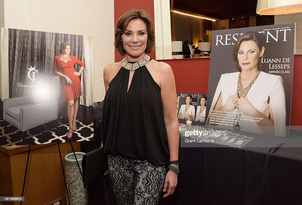 "Countess Luann de Lesseps' ""Resident Magazine"" Cover Party"