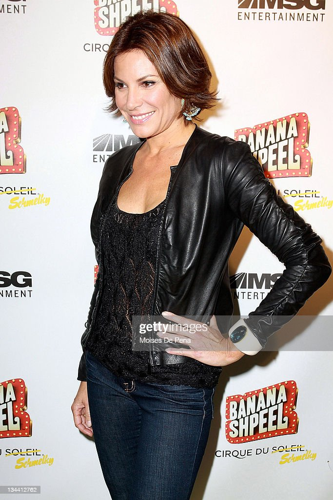 Countess Luann de Lesseps attends the opening night of Cirque du Soleil's 'Banana Shpeel' at the Beacon Theatre on May 19, 2010 in New York City.