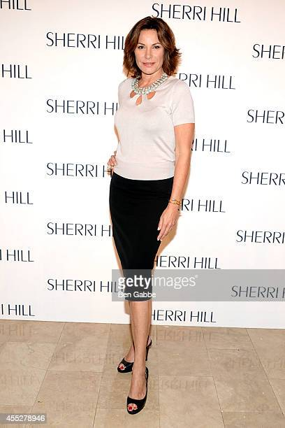 Countess LuAnn de Lesseps attends the Sherri Hill Fashion Show during MercedesBenz Fashion Week Spring 2015 on September 11 2014 in New York City