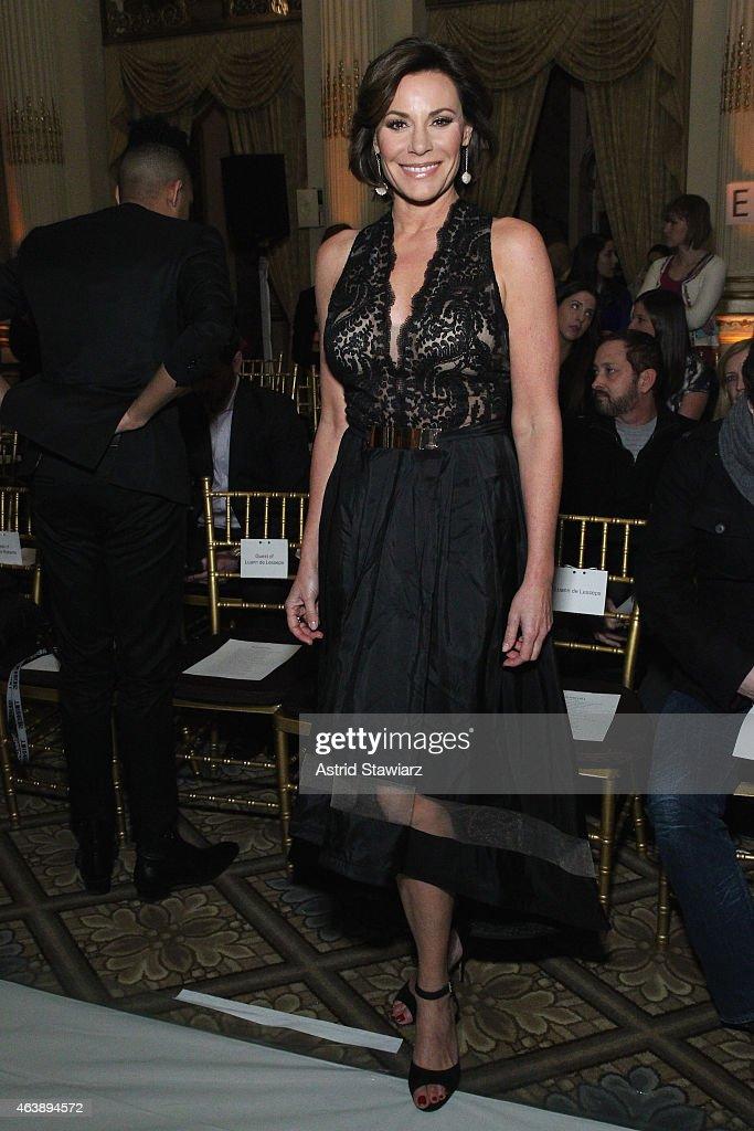 Sherri Hill - Front Row - Mercedes-Benz Fashion Week Fall 2015