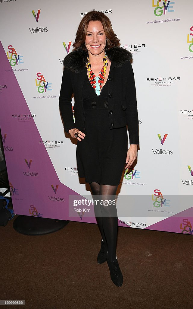 Countess LuAnn de Lesseps attends the Vera Launch at Ambassadors River View at the United Nations on January 24, 2013 in New York City.