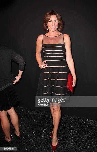 Countess LuAnn de Lesseps attends the Zang Toi show during Spring 2014 MercedesBenz Fashion Week at The Stage at Lincoln Center on September 10 2013...