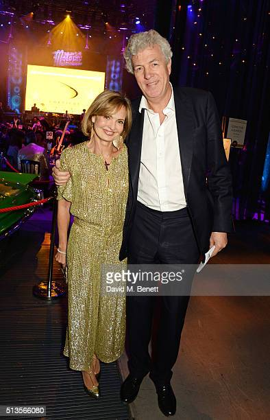 Countess Maya von Schoenburg and Henry Wyndham Chairman of Sotheby's Europe attend 'A Night Of Motown' for Save The Children UK at The Roundhouse on...