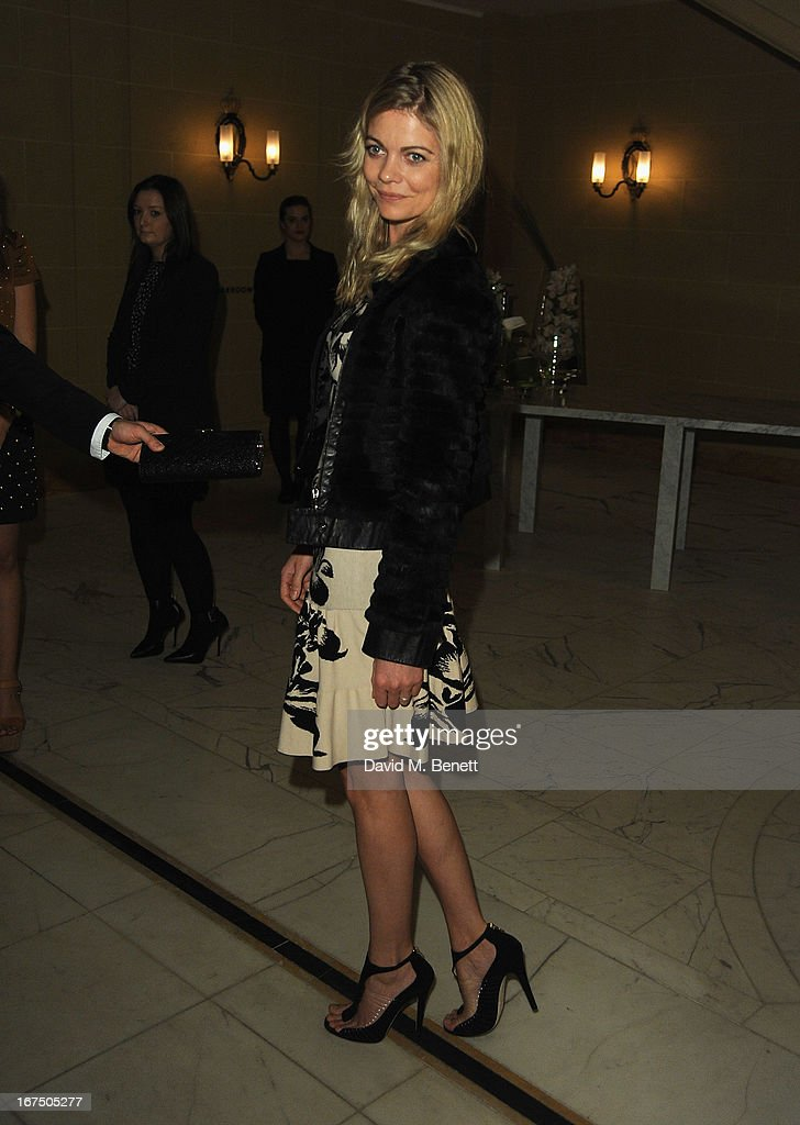 Countess of Mornington attends the Alexandra Shulman and Vogue Dinner in Honour of Michael Kors at the Cafe Royal on April 25, 2013 in London, England.