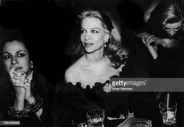 Countess Simonetta Brandolini Lynn Wyatt Nan Kempner Valentino celebration Xenon New York New York 1980