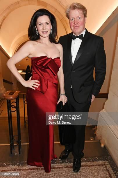 Countess Spencer and Earl Spencer attend the Portrait Gala 2017 sponsored by William Son at the National Portrait Gallery on March 28 2017 in London...