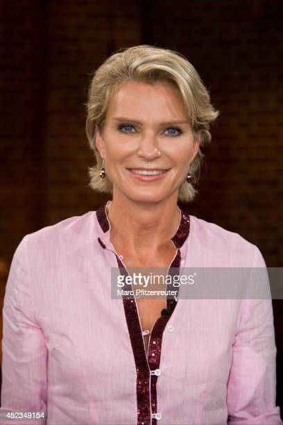 Countess Stephanie von Pfuel attends the 'Koelner Treff' TV Show at the WDR Studio on July 18 2014 in Cologne Germany