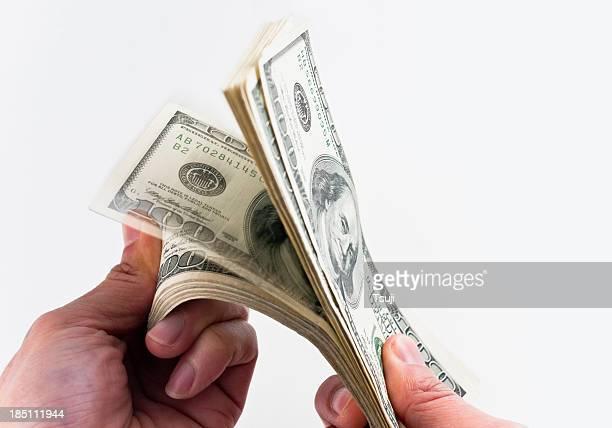Compter l'argent