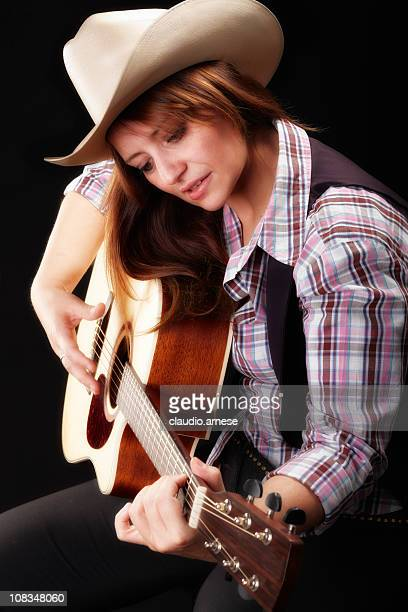 Country and Western Music. Color Image
