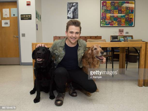 Country artist Hunter Hayes attends the Heartgardians Campaign Launch at Manhattan VA Medical Center on April 11 2017 in New York City