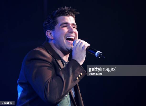 PRICING*** Country artist Josh Gracin performs during the 41st Annual Academy Of Country Music Awards AllStar Jam held at the MGM Grand Hotel Casino...