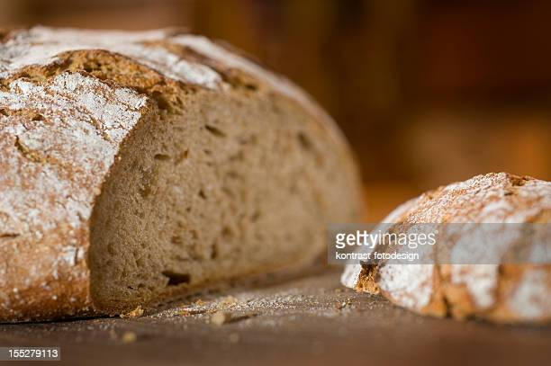 Country Bread, Bauernbrot, Vollkornbrot
