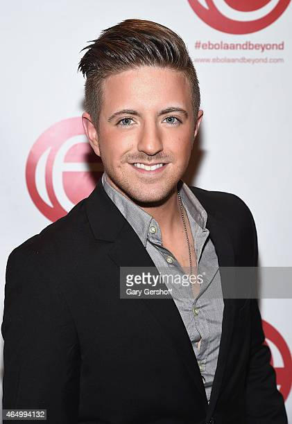 Country music artist Billy Gilman attends the 'Stop Ebola And Build For The Future' Concert at United Nations Headquarters on March 2 2015 in New...