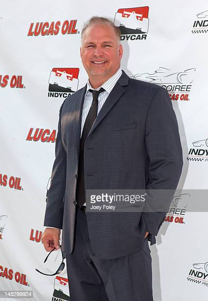 Country music artist Garth Brooks attends the Indy 500 Soiree Presented by Lucas Oil on May 25 2012 in Indianapolis Indiana
