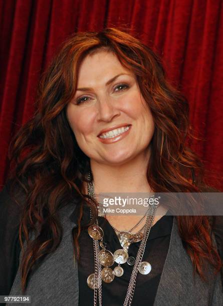 Country music artist Jo Dee Messina poses for a picture before she performs at Feinstein's on March 16 2010 in New York City