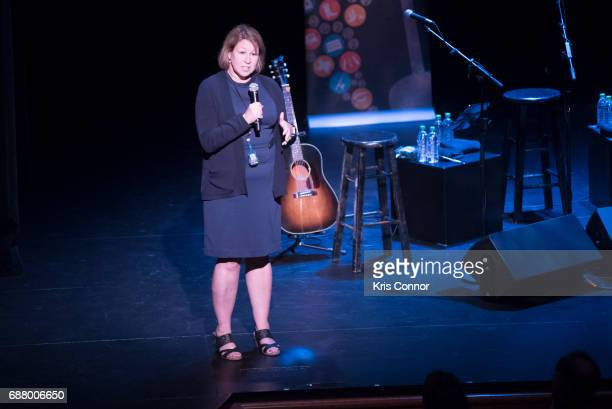 Country Music Association CEO Sarah Trahern attends the CMA Songwriters Series at The Kennedy Center of performing arts on May 24 2017 in Washington...
