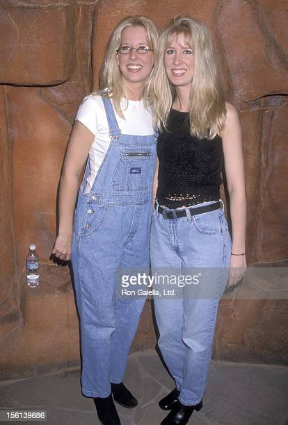 Country music duo The Kinleys attend the 33rd Annual Academy of Country Music Awards Nominees Reception on April 21 1998 at Country Star Restaurant...