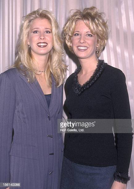 Country music duo The Kinleys attend the 41st Annual Grammy Awards Nominations Announcements on January 5 1999 at Beverly Hilton Hotel in Beverly...