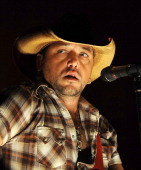 Country music musician Jason Aldean performs at Shoreline Amphitheatre on July 27 2011 in Mountain View California