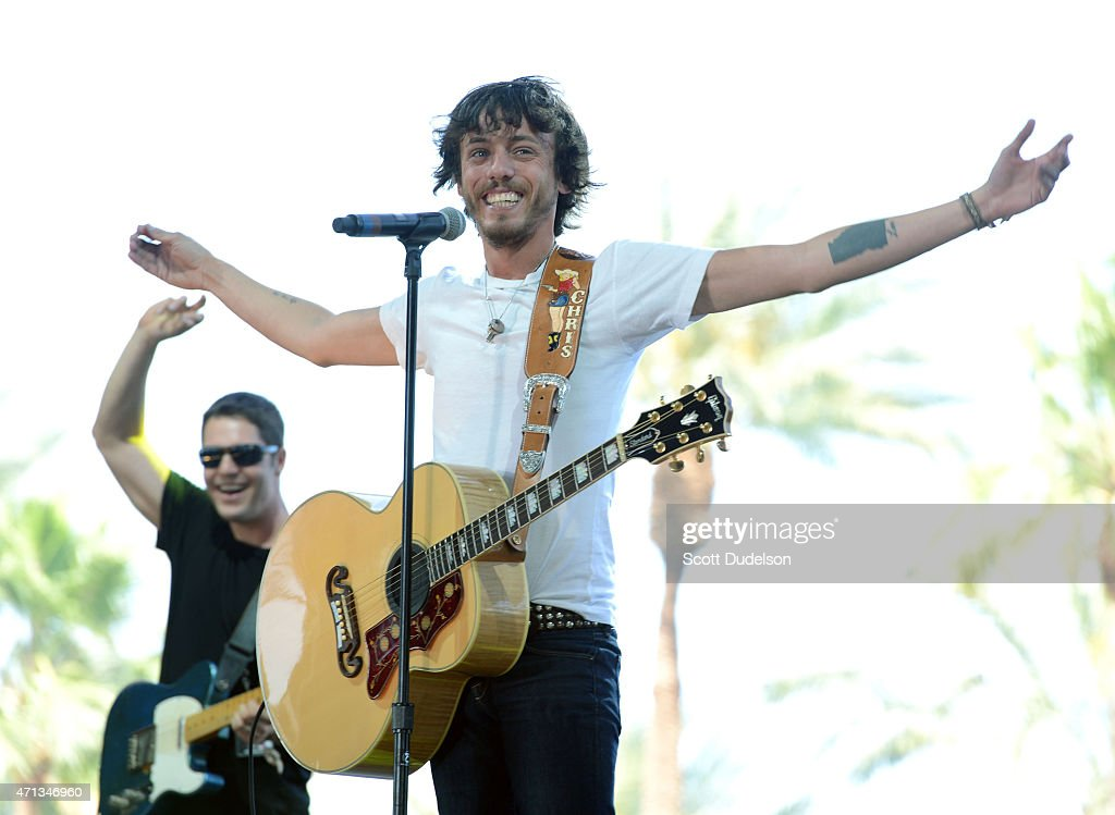 Country music singer chris janson performs onstage during day 3 of the