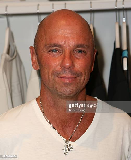 Country music singer Kenny Chesney attends the launch of Laird Apparel by Laird Hamilton at Ron Robinson on October 22 2015 in Santa Monica California