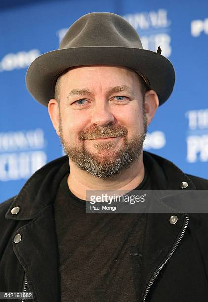 Country music singer Kristian Bush poses for a photo at the National Press Club on June 22 2016 in Washington DC
