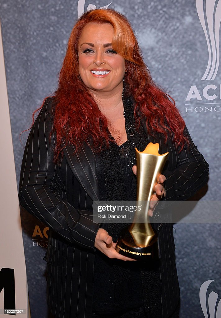 Country music singer Wynonna Judd attends the 7th Annual ACM Honors at the Ryman Auditorium on September 10 2013 in Nashville Tennessee