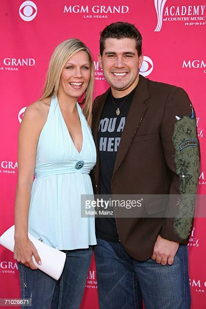 Country musician Josh Gracin and wife Ann Marie Kovacs arrive at the 41st Annual Academy Of Country Music Awards held at the MGM Grand Garden Arena...