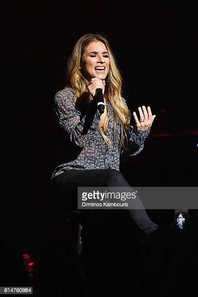 Country Pop singer and reality TV star Jessie James Decker performs inside The Cabaret Theatre at Mohegan Sun as part of the property's 20th...