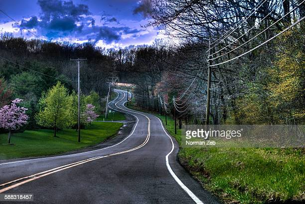 Country road, Hampton, New Jersey