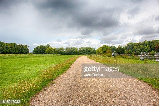 Carretera de campo  : Foto de stock
